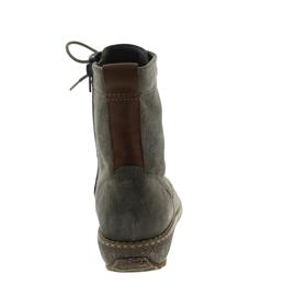Waldläufer Hoja, Velour/Rodi, echt Lammfell, peltro / cognac, Weite H 533916-735-103