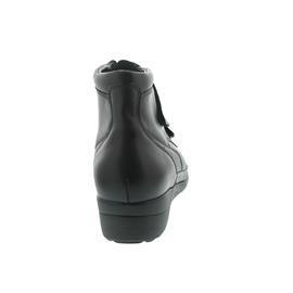 Waldläufer Mabel, Iseo (Glattleder), Klettverschluss, schwarz, Weite M 862007-144-001