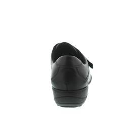 Waldläufer Katja-Soft, Ortho-Tritt, Glattleder / Stretch, schwarz, Weite K, Klettv. K01304-300-001