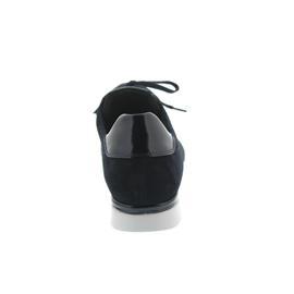 Semler Nelly, Sneaker, Samt-Chevro/Lack, midnightblue / ocean, Weite H, Vario-Fußbett N8035-550-809