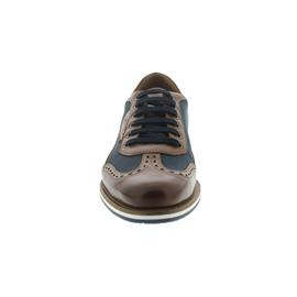 Galizio Torresi Sneaker, Foulard Nougat / Tec. Navy, Wechselfußbett 310964