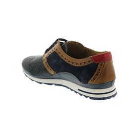 Galizio Torresi Sneaker, Foulard Blu / Veg. Blu, Flechtoptik, Wechselfußbett 412380