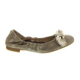 Donna Carolina Ballerina, Metal Oro + Ginger Platino (Nubukled.) 37.170.020-009