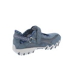 Allrounder Niro, Klettverschluss, Jeanstyle 95/Open Mesh 20, Teal / Teal (blau) N819