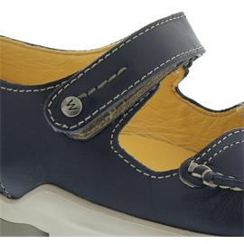 Wolky Polina, Blue summer, Leoa leather, Halbschuh, Klett 01754-70870