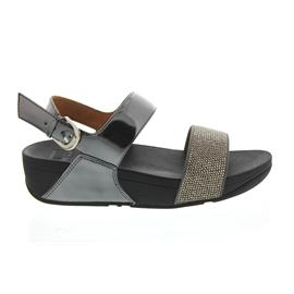 FitFlop Ritzy Back-Strap Sandals, Pewter (grau) L21-054