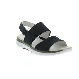 Gabor Rollingsoft Sandale, Nubuk, nightblue, Klettverschluss 86.914.46