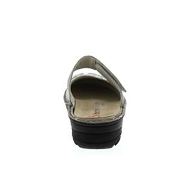 Berkemann Heliane, grau-silber Velour/silber Stretch, Clog Weite G-I 3457-636