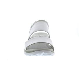 Gabor Rollingsoft Sandale, Nappa, weiss, Klettverschluss 86.914.50