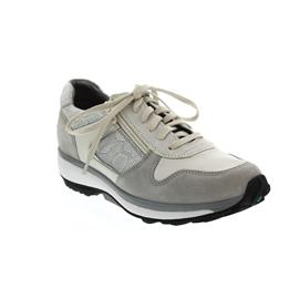 Xsensible Jersey Sneaker, Stretch-Leather, Grey/Silver, Vario-Fussbett, Weite GX 30042.3.845