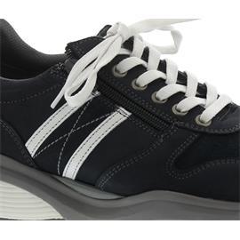 Xsensible SWX3 Sneaker, Stretch-Silky Leather, Navy / White, Vario-Fussbett, Weite GX 30027.2.248