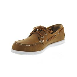 Sebago Litesides Two Eye, Med Brown Leather B411974 Women