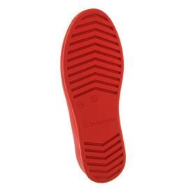 Berkemann Eila, weiß-rot, Knit (Strick), Halbschuh, Weite G-I 5152-167