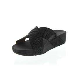 FitFlop Ritzy Slide Sandals, Black L22-001
