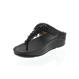 FitFlop Rumba Toe-Thong Sandals, Black K26-001