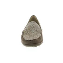 Waldläufer Kläre, Mokassin, Nubuk/Namib, taupe, Weite K 640004-204-230