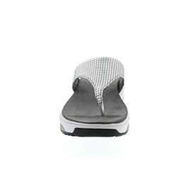 Xsensible Ithaka, Zehensteg-Pantolette, Grey Metallic, Weite G 30056.5.855