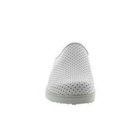 Berkemann Tec-Pro Thordu, Glattleder, weiß, Fußbett herausnehmbar, Weite H 9103-100