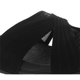 Joya Bali Black, Pantolette, Emotion-Sohle, Leather / Textile 505san