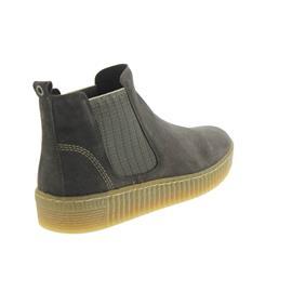 Gabor Chelsea-Boot, Dreamvelour (Micro), wallaby/beige (natur),Wechselfußbett, Best-Fitting 93.731.12