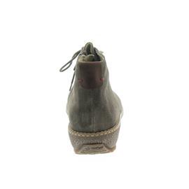 Waldläufer Hoja, Velour/Houston, echt Lammfell, peltro / cognac, Weite H 533915-287-103