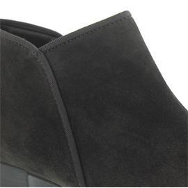 Gabor Ankle-Boot, Dreamvelour (Micro), pepper (grau), Hovercraft-Sohle, Best-Fitting 95.633.19