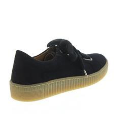 Gabor Sneaker, Samtchevreau, atlantik (dunkelblau), Wechselfußbett, Best-Fitting 93.331.16
