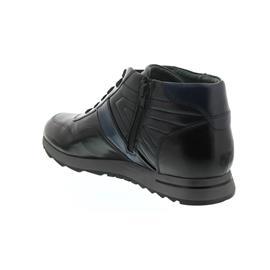 Galizio Torresi Indio Foulard (Glattleder), nero-blue, Schnür. und Reißver., Wechselfußbett 321588