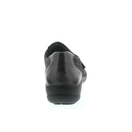 Semler Birgit, K-Lack/Samt-Chevro, pepper (grau), Vario-Fussbett, Weite H B6015-511-007