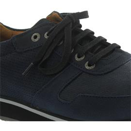 Wolky E-Walk Men, Stretch-Antique Nubuck, Blue Winter, Wechselfußbett 0585011-875