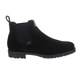 Galizio Torresi Chelsea-Boot, Seta (Velourleder), Inchiostro (dunkelblau), Wechselfußbett 324288