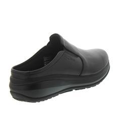 Joya Cabrio II W Black, Full-Grain Leather / Textile, Emotion-Sohle, Clog 752cas