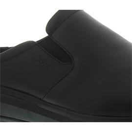Joya Cabrio II M Black, Full-Grain Leather / Textile, Emotion-Sohle, Clog 135cas