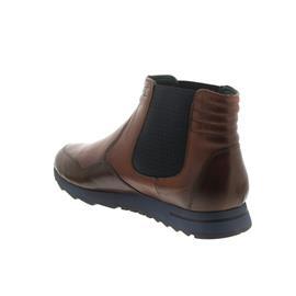 Galizio Torresi Chelsea-Boot, Indio (Glattleder), Sudan (braun), Wechselfußbett 322088