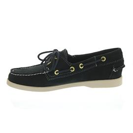 Sebago Docksides, Suede (Velourleder), Blue-Navy, Women 7000510-908