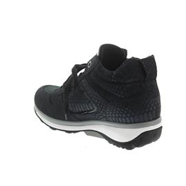 Xsensible Filly Bootie, Stretch-Leather, Navy Metal, Vario-Fussbett, Weite GX 30026.2.249