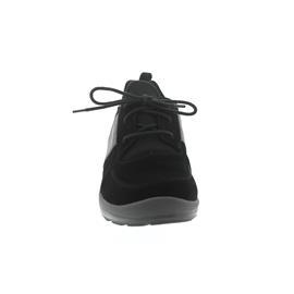 Ganter Hali, Aktiv Vario, Casualvel.-Leder, schwarz / antrazit, Kork-Fußbett, Weite H 208212-0162