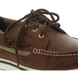 Sebago Triton Three-Eye, Glattleder, brown cognac 7000GF0-907 Men