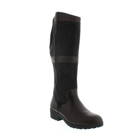 Dubarry Sligo, Dry Fast - Dry Soft Leder, Black / Brown, Reißver., Gore-Tex Ausstattung 3948-12