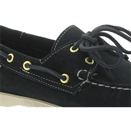 Sebago Docksides, Suede (Veloursleder), blue-navy, Men 7000G90-908