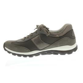 Rollingsoft Sneaker, Mesh / Nubuk / Met Brush, fumo / argento, Wechselfußbett 26.966.28