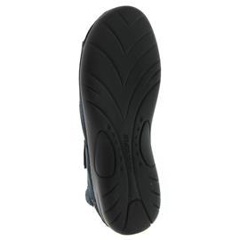 Waldläufer Gunna, Pro-Aktiv-Fußbett, Denver (Nubukled.), jeans, Weite G 204001-191-206