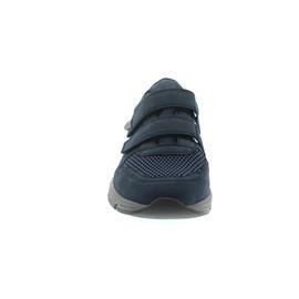 Waldläufer Haslo, Denver/Denver/Paris, Sneaker, jeans, Klettverschluss, Weite H 323301-304-206