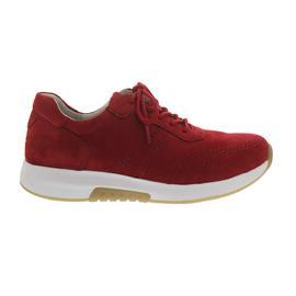 Gabor Rollingsoft, Sneaker, Nubuk, rubin, Wechselfußbett 26.945.48