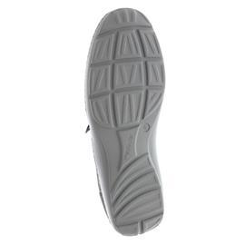 Waldläufer Henni, Pro-Aktiv Fussbett, Denver / Foil, pietra/asphalt (grau), Weite H 496013-216-411
