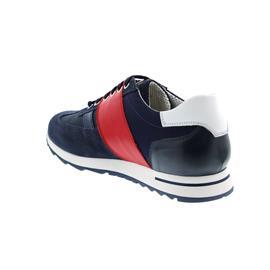 Galizio Torresi Sneaker, Nubuk, Seta Jeans / Tech, Wechselfußbett 311190