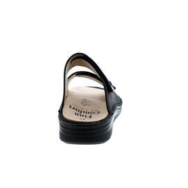 Finn Comfort Paterna, Pantolette, Nuri (Glattleder), schwarz, Finn-Plus (extraweit) 1420-615099