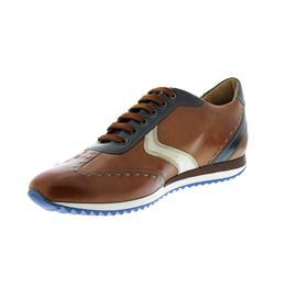 Galizio Torresi Sneaker, Vegas (Glattleder), cuoio / bianco / blu, 316380
