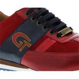 Galizio Torresi Sneaker, Foulard / Seta (Glatt- / Nubukleder), rot / blau, 315880