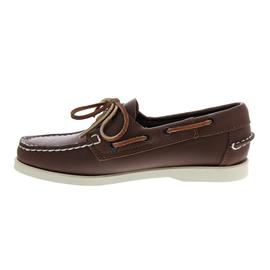 Sebago Docksides, Full-Grain Leather, Brown, Women 7000530-900